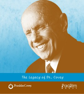 The Legacy of Dr. Covey July 2013