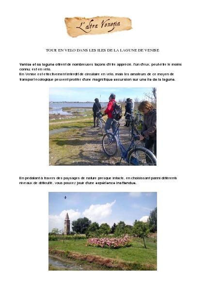 Venise Autrement Tour en vélo dans les îles de la lagune de Venise