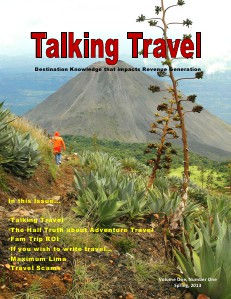 Talking Travel-The Magazine Spring, 2013