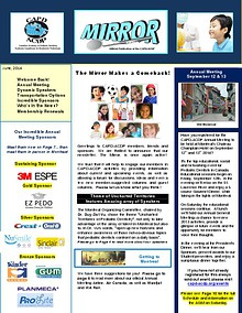 The Mirror, CAPD's Newsletter, June 2014