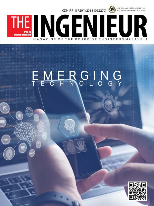 Ingenieur Vol 77 Jan-Mar 2019 ingenieur 2019 Jan-March