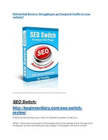 SEO Switch Review-(Free) bonus and discount