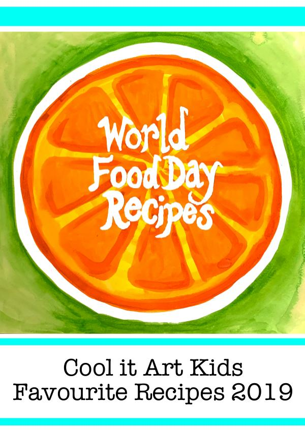 Word Food Day - Favourite Recipes 2019 Cool it Art Kids VGCC