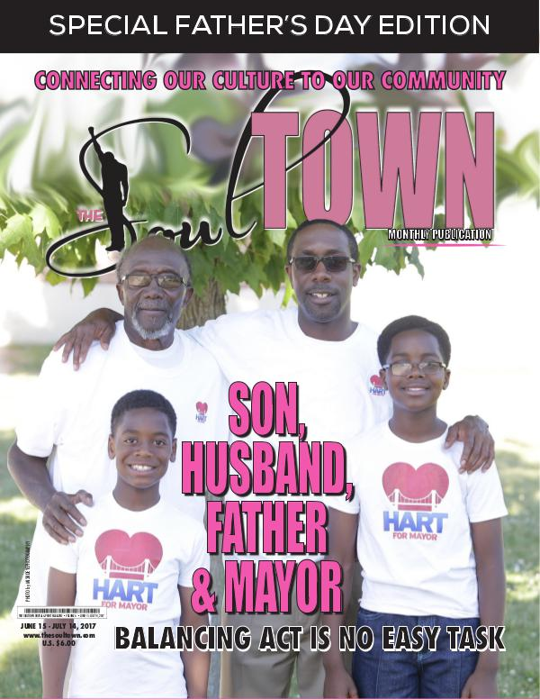 The Soultown! Volume I: ISSUE 6 JUNE 2017