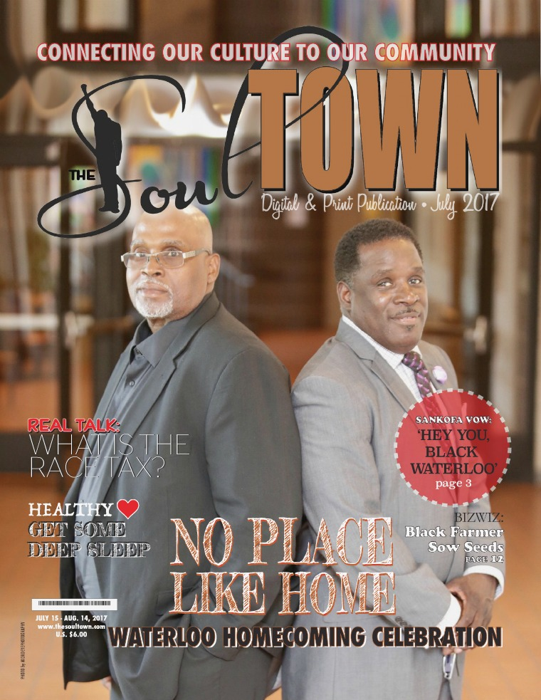 The Soultown! Volume I: ISSUE 7 JULY 2017