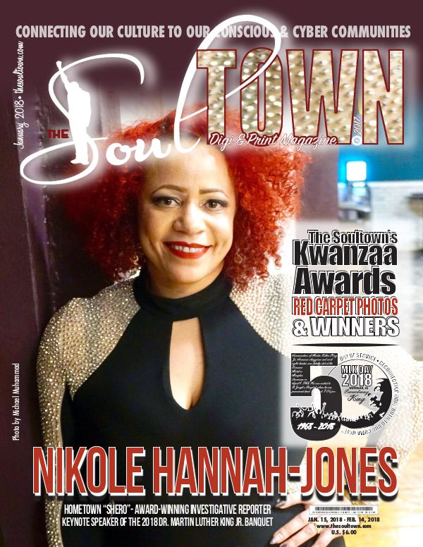 The Soultown! Volume II: ISSUE 1 JANUARY 2018