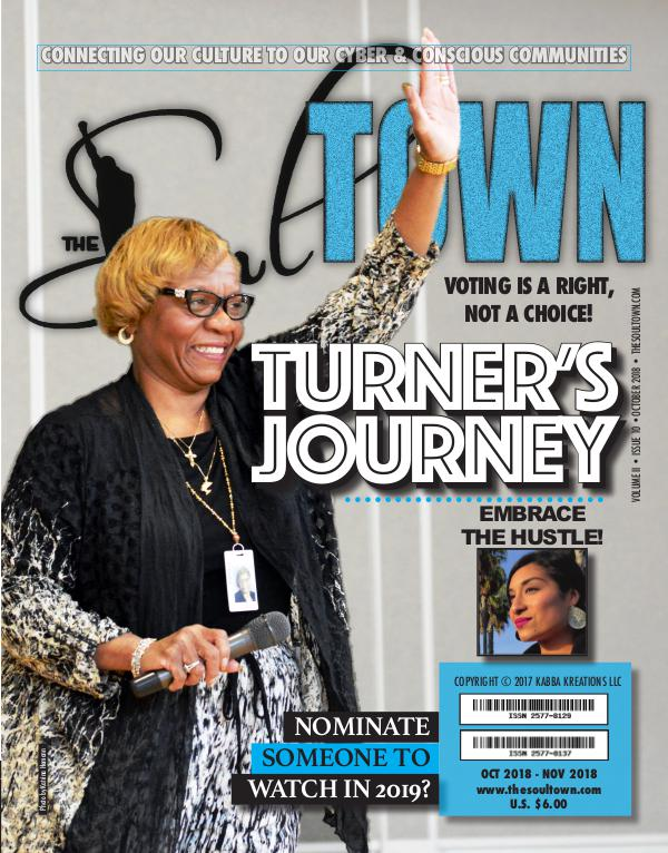 The Soultown! Volume II: Issue 10 OCTOBER 2018