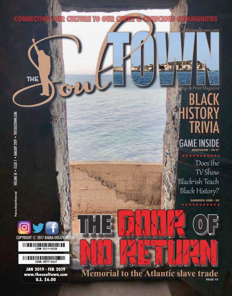 The Soultown! Volume III: Issue 1 JANUARY 2019