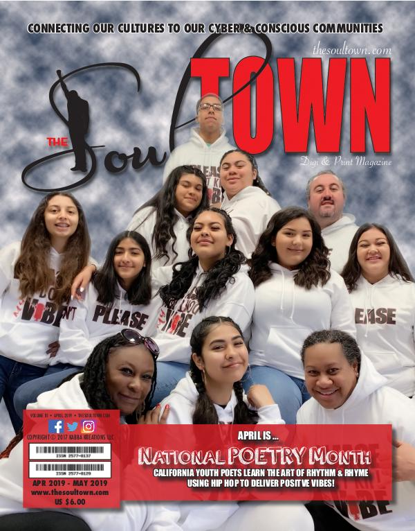 The Soultown! Volume III: Issue 4 APRIL 2019