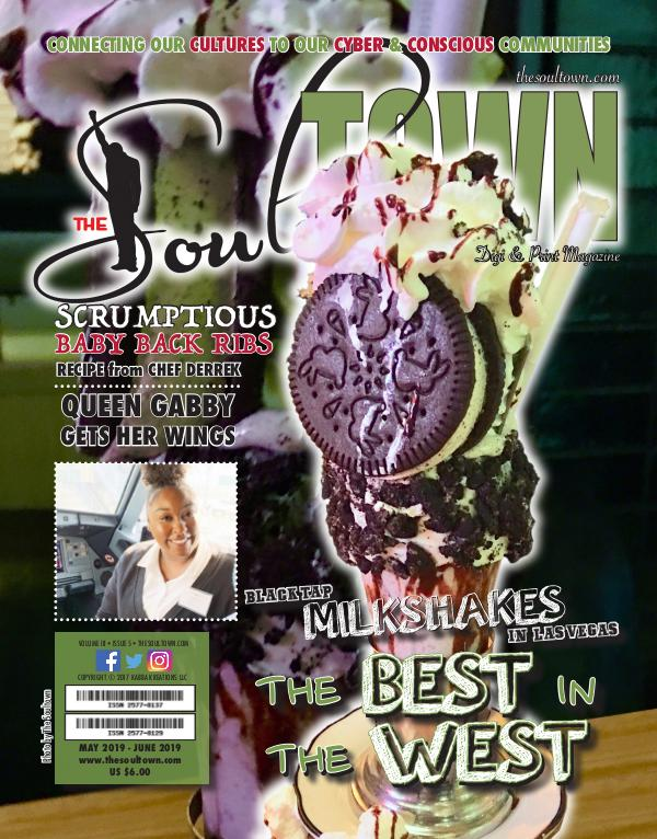 The Soultown! Volume III: Issue 5 MAY 2019