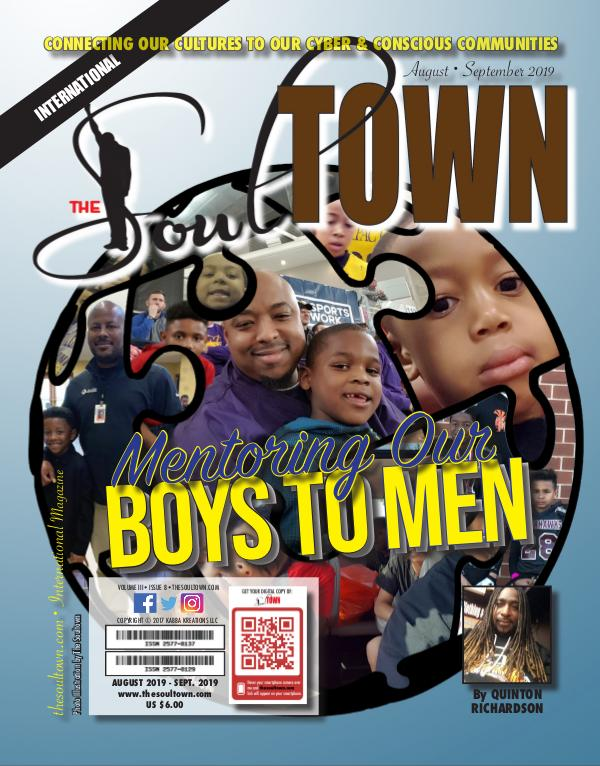 The Soultown! Volume III: Issue 8 AUGUST 2019