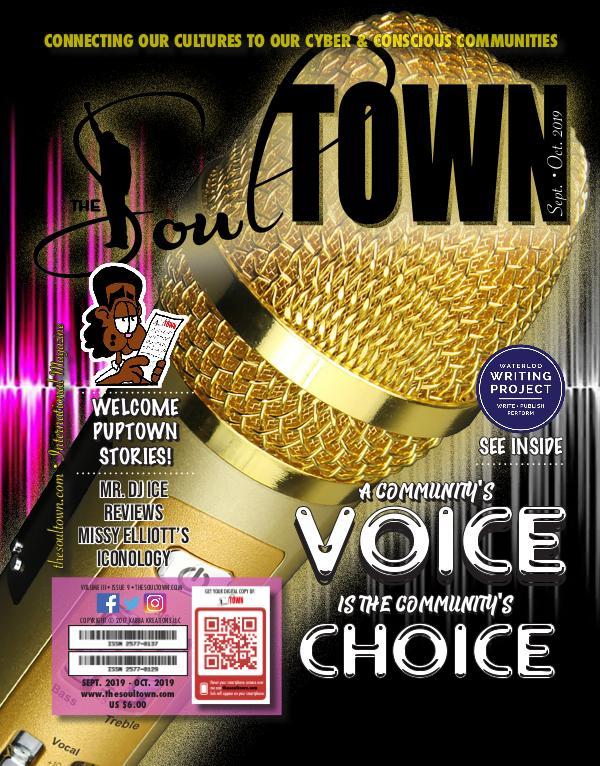 The Soultown! Volume III: Issue 9 SEPTEMBER 2019