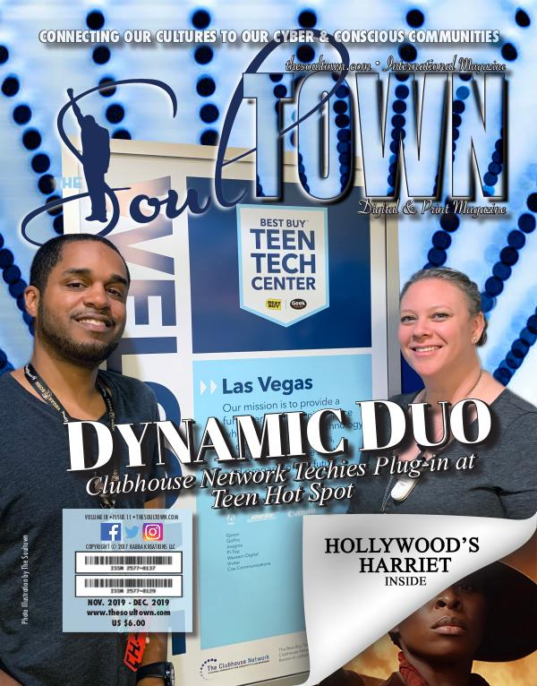 The Soultown! Volume III: Issue 11 NOVEMBER 2019