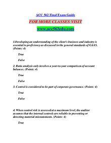 ACC 562 EDU Learn by Doing/acc562edu.com