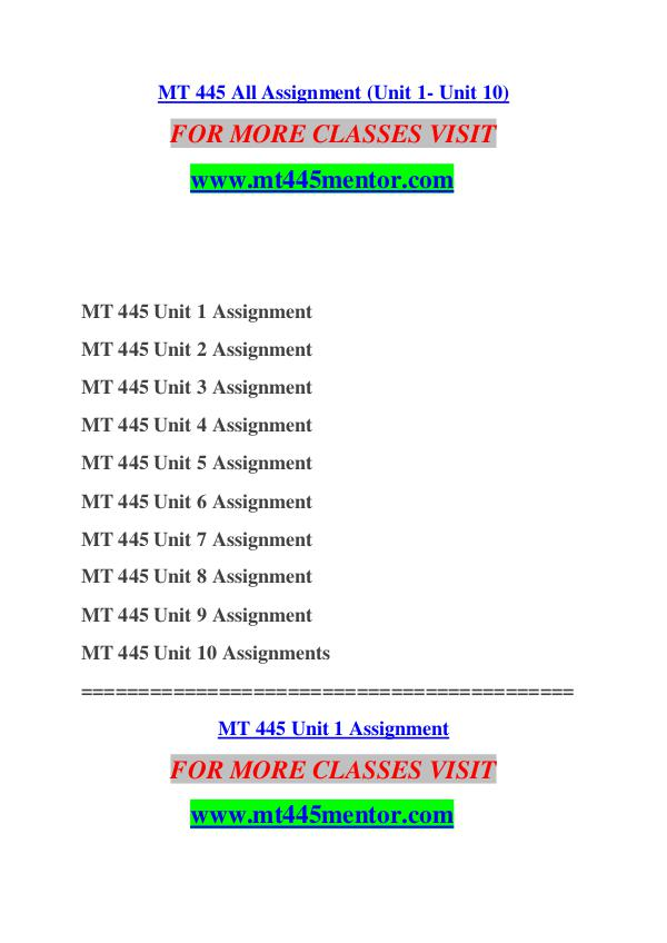mt445 unit 2 assignment Managerial economics - mt445- unit 8 assignment managerial economics - mt445- unit 8 assignment question 1362 1403 year.