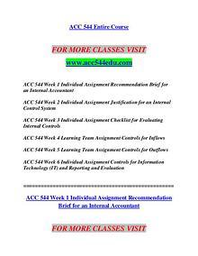 ACC 544 EDU Redefine the Possible/acc544edu.com