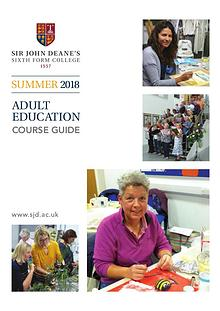 Adult Education - Summer 2018