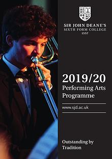 2019/20 Performing Arts Programme