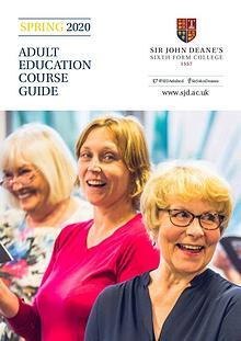 Sir John Deane's Adult Education Spring 2020