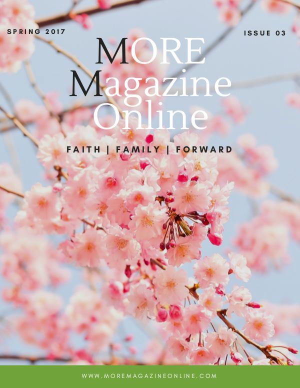 MORE Magazine Spring 2017 Issue 3
