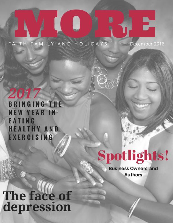 MORE Magazine December 2016