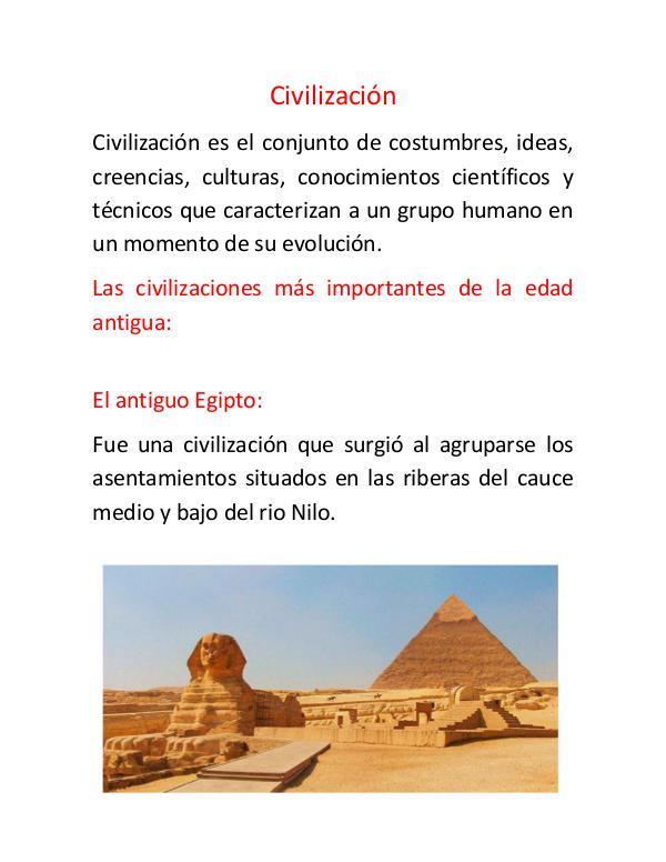 Civilización civilización
