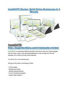 InstaSUITE review demo-- InstaSUITE FREE bonus