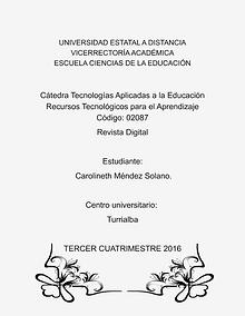 Revista Digital-Portafolio de aprendizaje.
