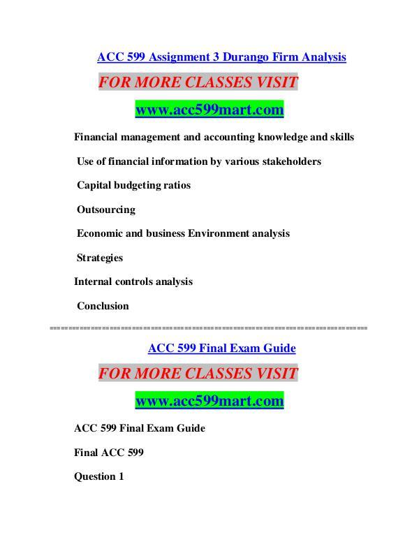 ACC 599 MART Learn by Doing/acc599mart.com ACC 599 MART Learn by Doing/acc599mart.com