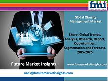 Obesity Management Market Globally Expected to Drive Growth through 2