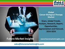 Good Growth Opportunities in Global Cancer Biological Therapy Market
