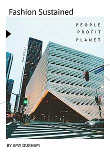 Fashion Future and Sustainability