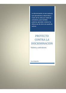Proyecto Contra La Discriminacion