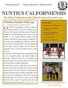 Nuntius Californiensis