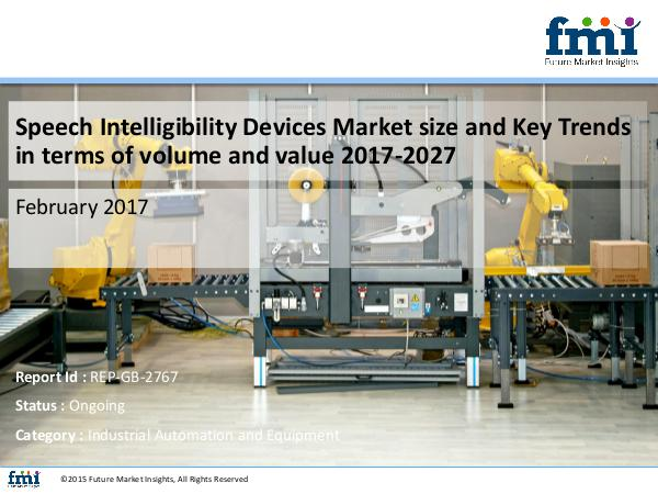 FMI Speech Intelligibility Devices Market size in term
