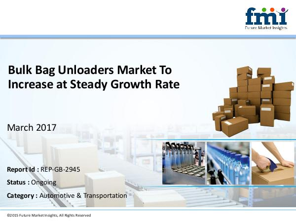 Bulk Bag Unloaders Market To Increase at Steady Gr