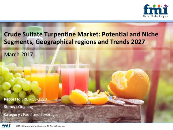Crude Sulfate Turpentine Market: Key Growth Factor