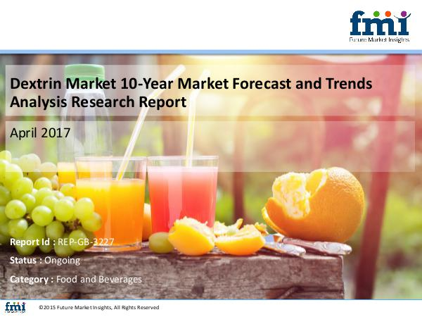 Dextrin Market Growth and Forecast 2017-2027