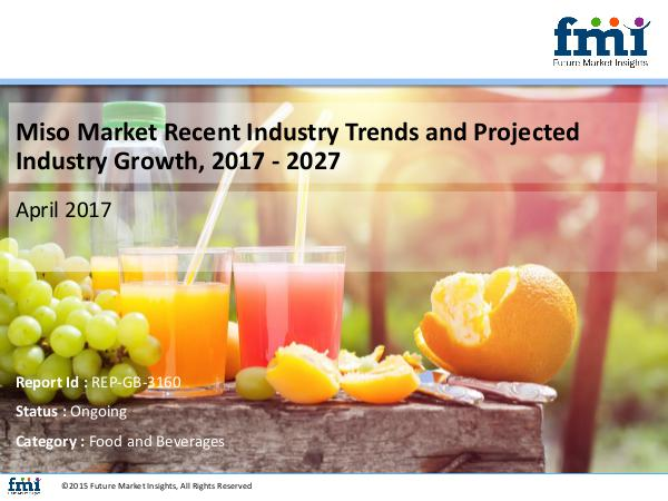 Miso Market Opportunities and Forecast Assessment,