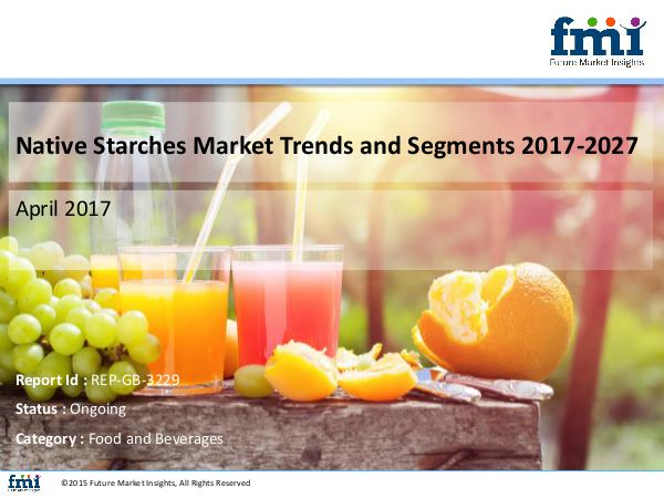 FMI Native Starches Market Value