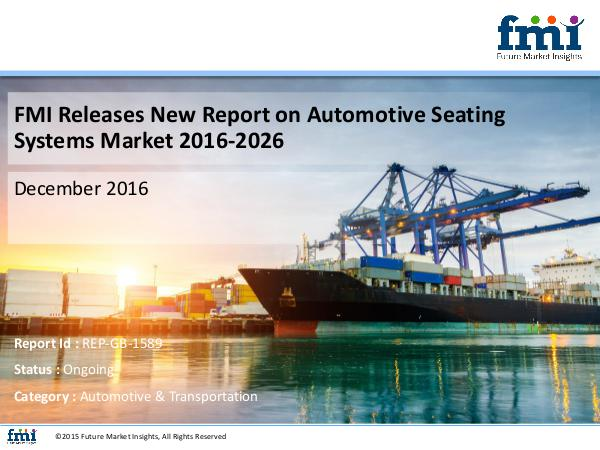 Good Growth Opportunities in Automotive Seating Sy