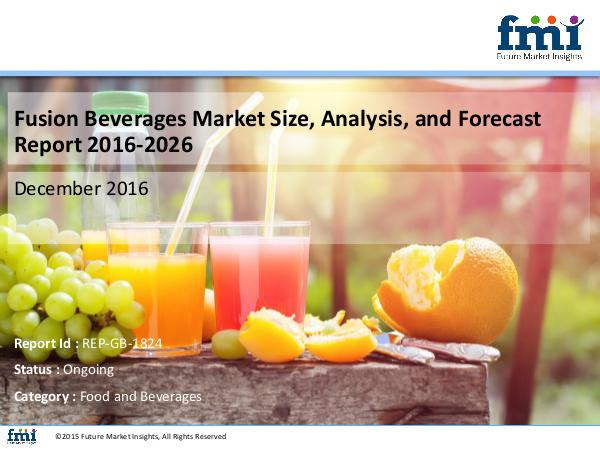 Fusion Beverages Market Expected to Expand at a St