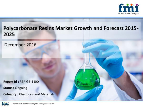 Polycarbonate Resins Market Size, Analysis, and Fo