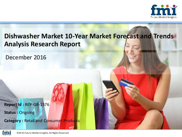 FMI Releases New Report on the Dishwasher Market 2