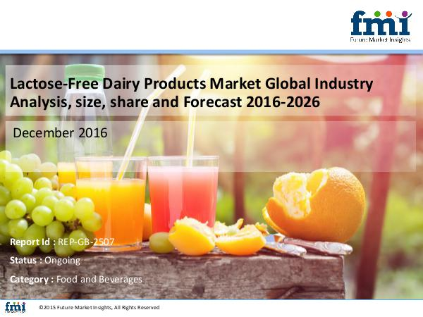 FMI Lactose-Free Dairy Products Market Size, Analysis,