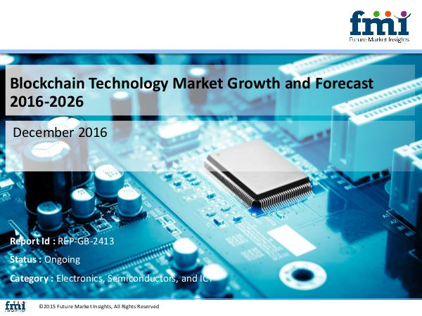FMI Research report covers the Blockchain Technology M