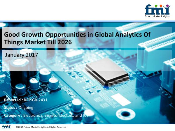 New Trends of Analytics Of Things Market with Worl
