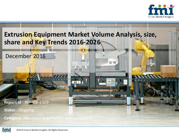Forecast On Extrusion Equipment Market Global Indu