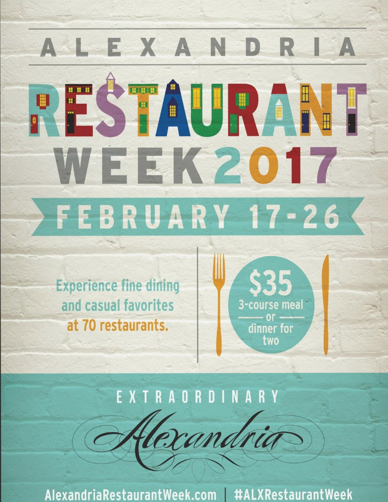 2017 Winter Restaurant Week 2017 Winter Restaurant Week