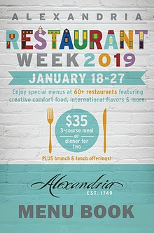 2019 Winter Restaurant Week